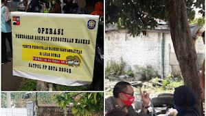 Belasan Orang Terjaring Razia Masker Di Kota Bogor