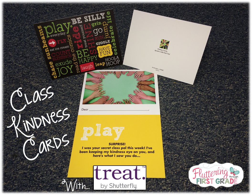 Message Center Kindness Cards With Treat By Shutterfly Fluttering