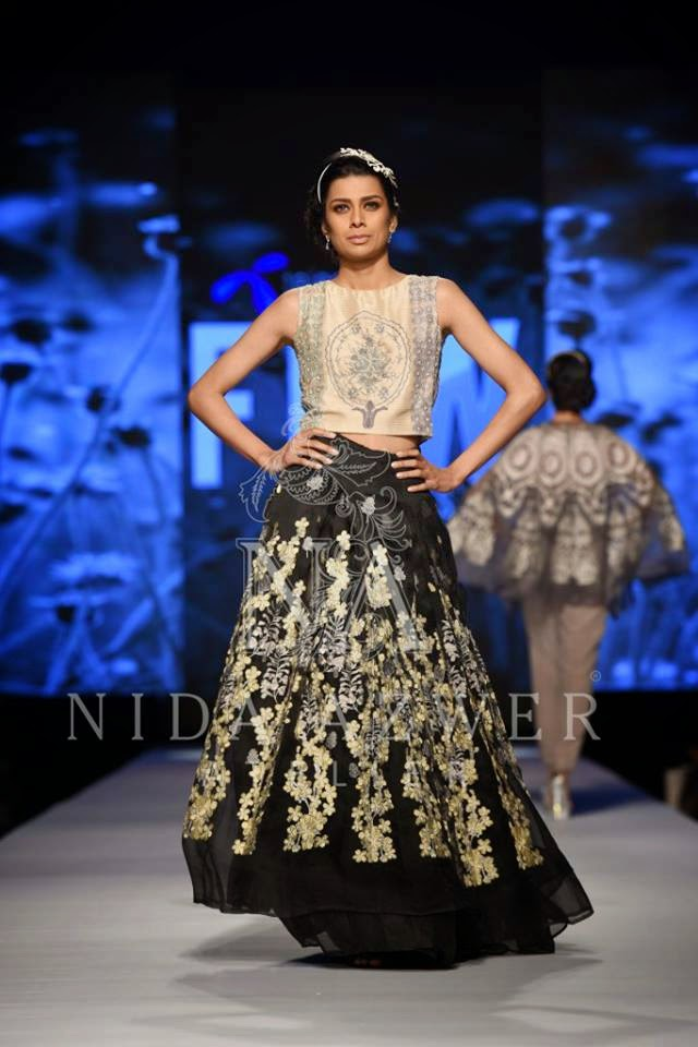 Nida Azwer Summer French Trellis Collection