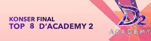 Jadwal tayang 8 besar dangdut academy 2 indosiar
