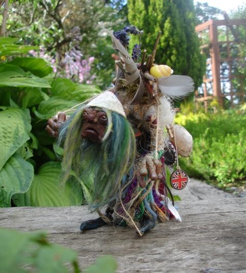 Bag lady labyrinth
