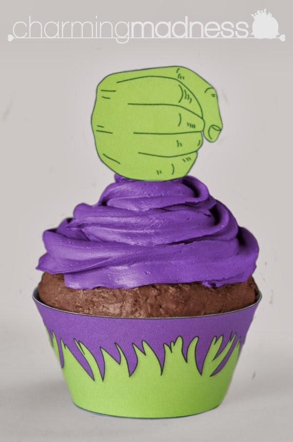 Kit para cupcakes.