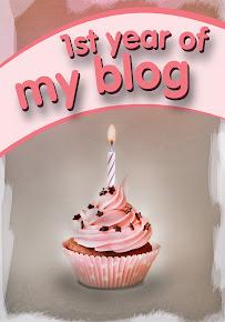 Blogum 1 yaşında!