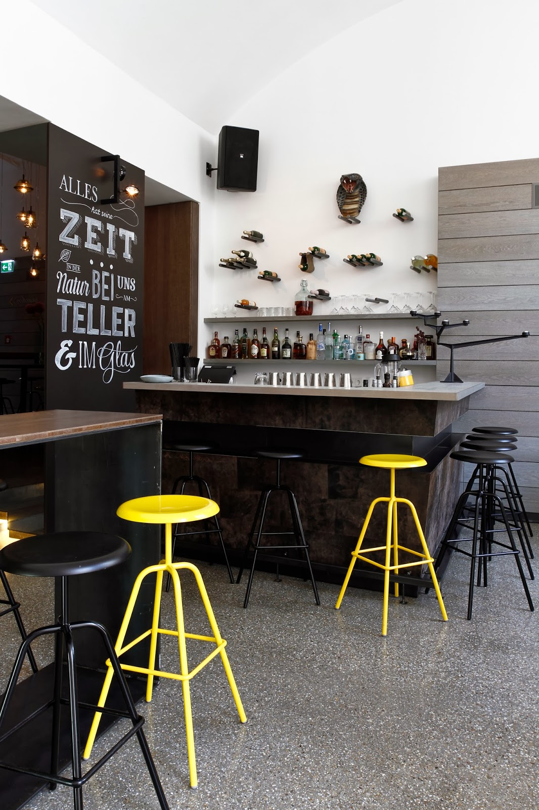 Rainer wallmann commercial interior design restaurant