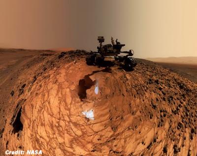 Mars Rover Curiosity's New Selfie