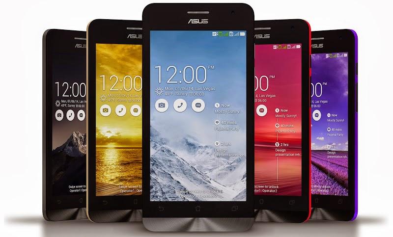 Asus Zenfone 5 A500CG, Smartphone Handal Harga 1,8 jutaan