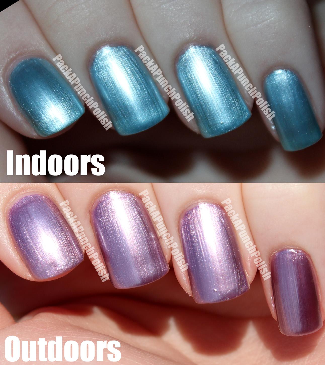 Mood Changing Color Nail Polish - Nails Gallery