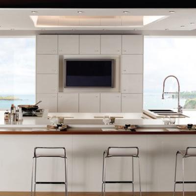 C mo tener una isla central en la cocina moderna for Una cocina moderna