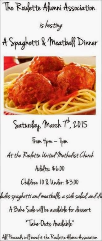 3-7 Spaghetti & Meatball Dinner