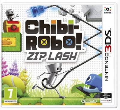 Nintendo 3DS, Chibi-Robo! Zip Lash, platform game
