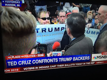 Cruz Trumped in Impromptu Debate