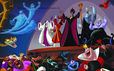 disney evil villains Cartoon pogo hq wallpapers