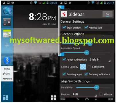Cara Menambahkan Menu Sidebar di Hp Android