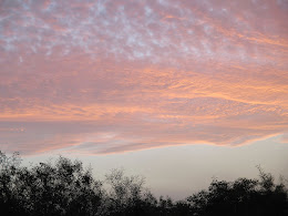 Sunset Sky, Chania, Crete, February 2014