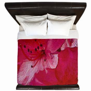 Floral Blush King Duvet