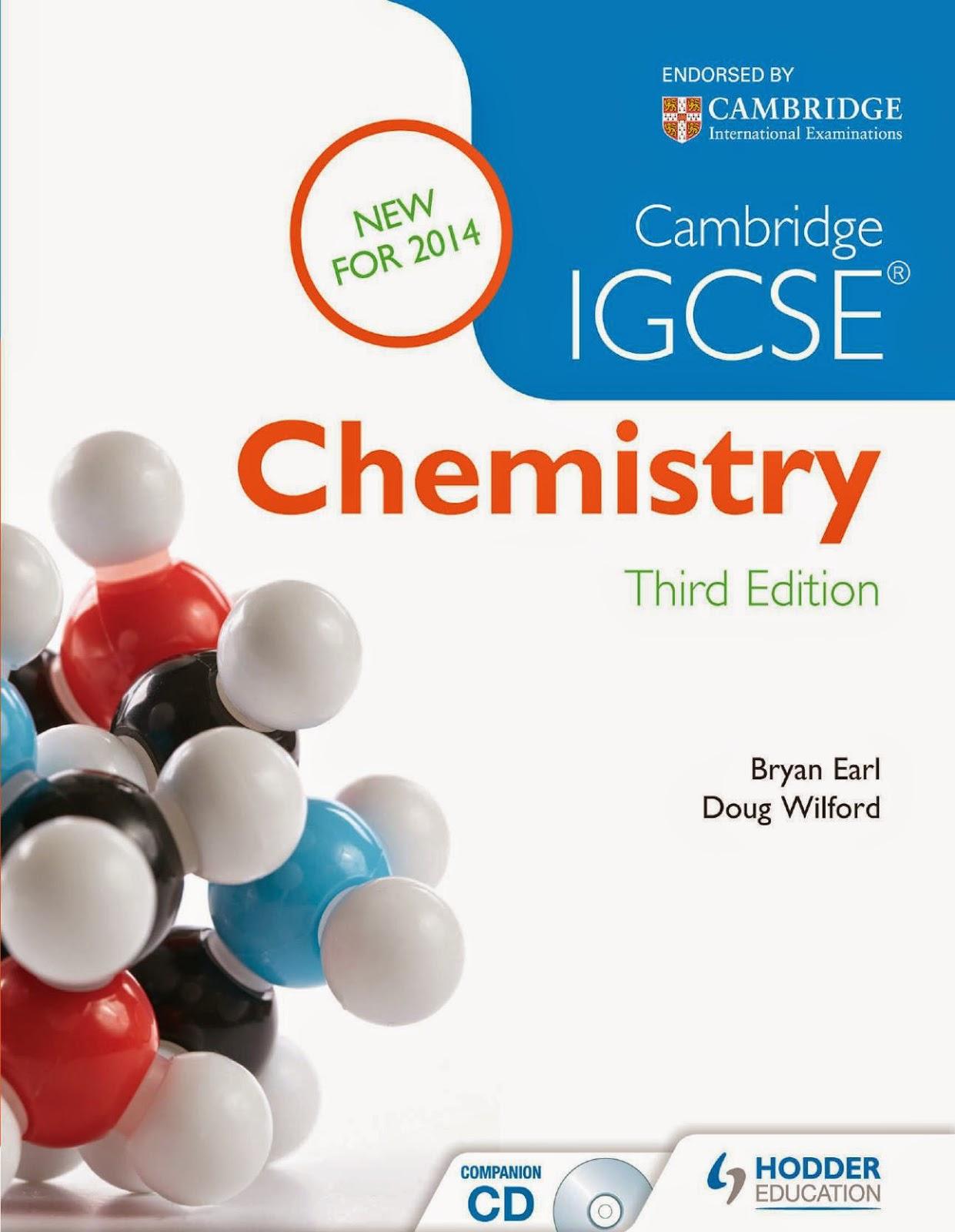 Download & Study: IGCSE/ GCSE Chemistry - Text Books/ Ebooks/ Guides