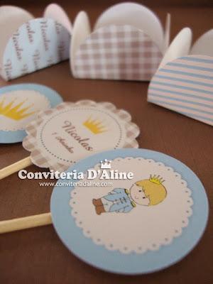 decoração festa infantil príncipe