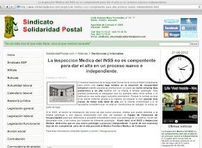 21/05/2012-SOLIDARIDAD POSTAL.COMP-