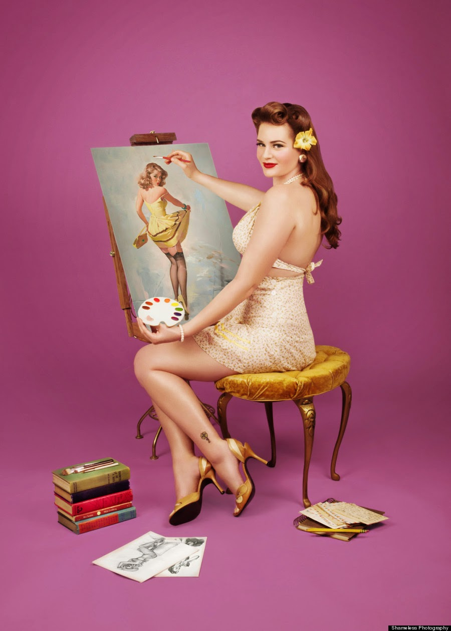 These Pin-Up Photos From 'Shameless Photography' Show That Every Body Is Gorgeous, fashion photography, photography news
