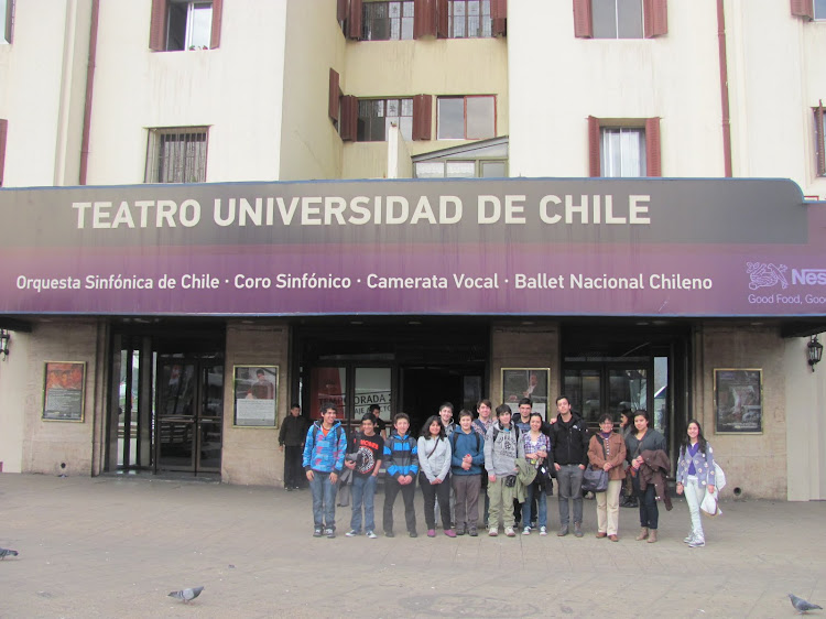 GIRA A SANTIAGO: CONCIERTO DE LA SINFÓNICA DE CHILE