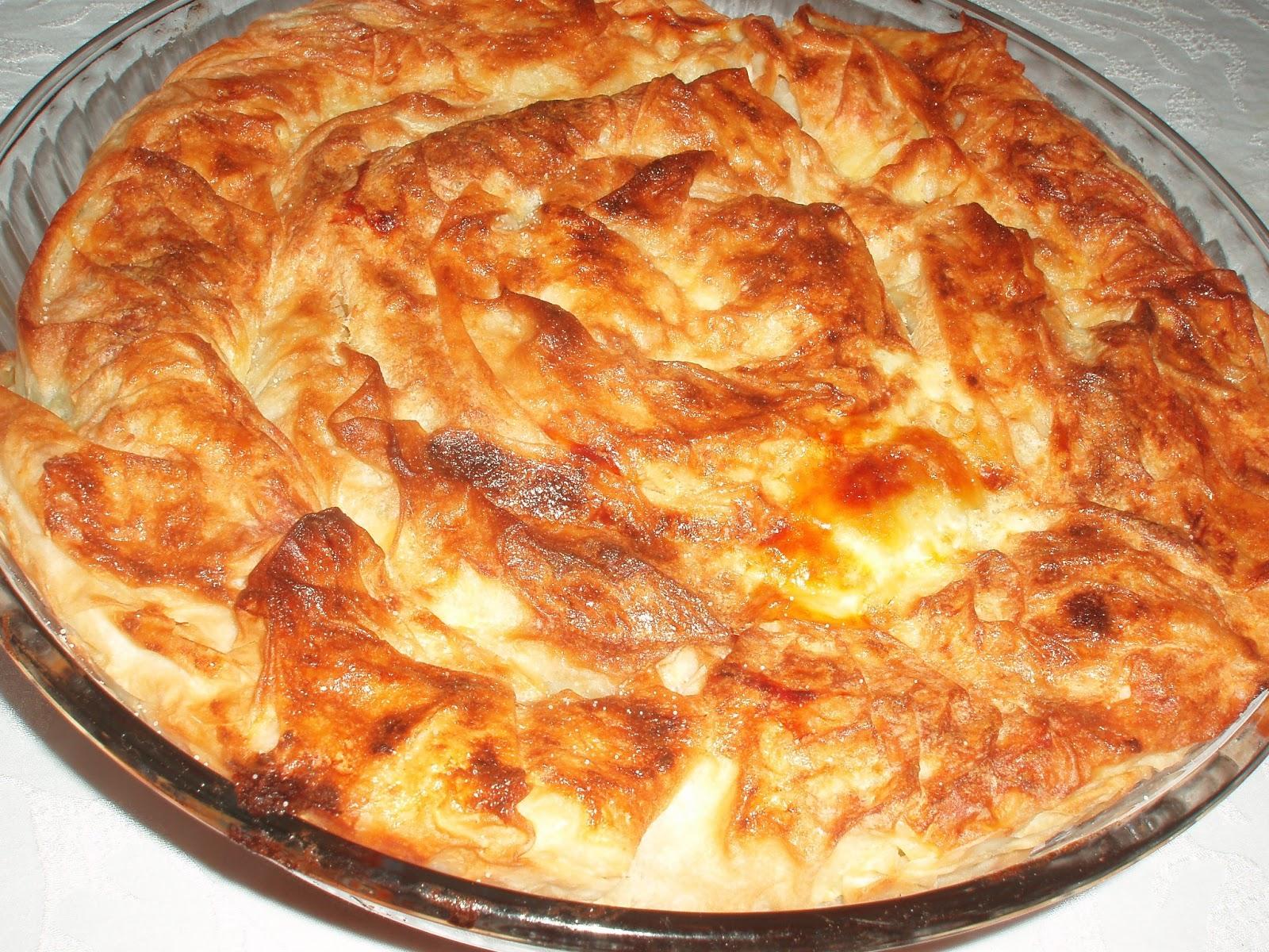 Ispanaklı Kol Böreği Tarifi