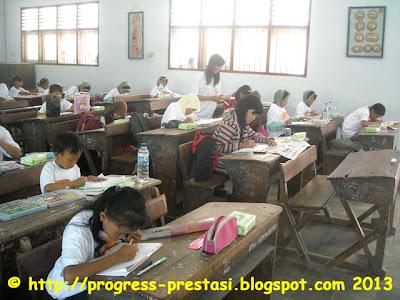 Progress Prestasi | Foto Suasana Babak Final Lomba Mewarnai dan Menggambar Tingkat Kab. Jombang 2012-2013