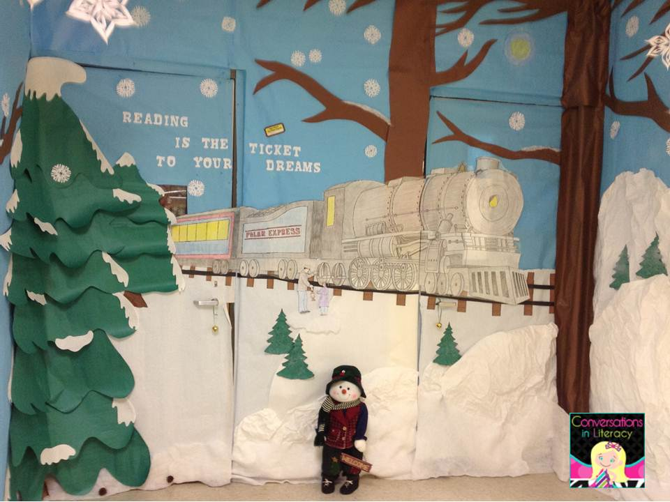 Conversations in Literacy: Polar Express Non-AR Reading Party