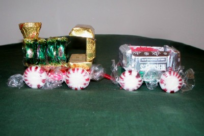 Holiday Candy Train Craft