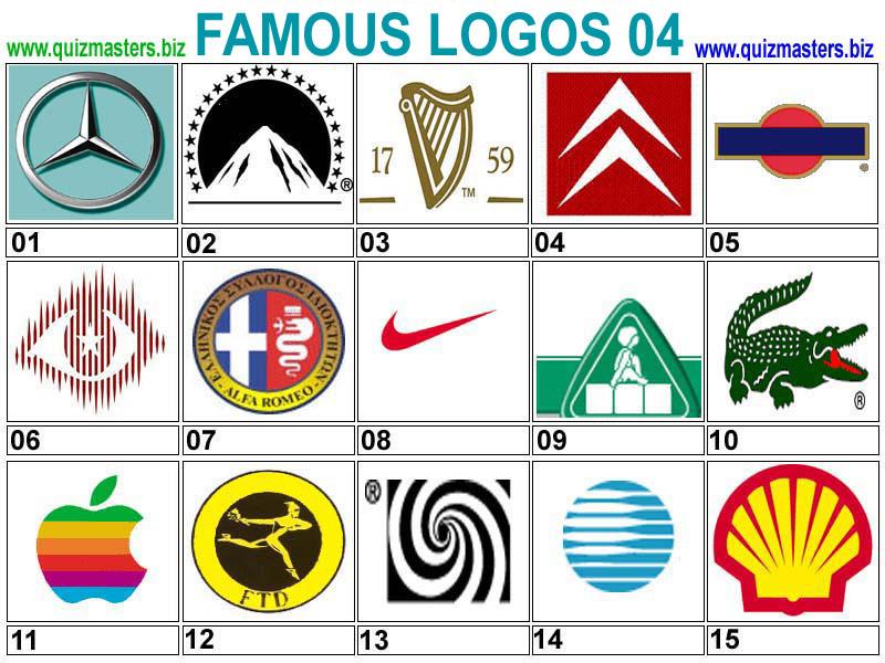 logo collection famous logos