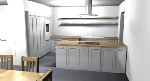 Küche Eingekoffert | Unser Bautagebuch Kuchenplanung