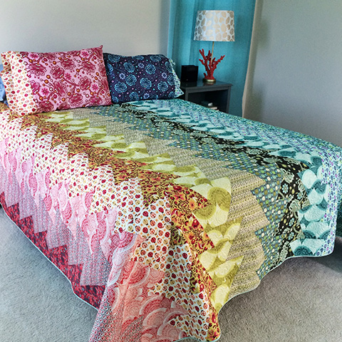 Northern Lights Made Out Of Voile By Tula Pink Jaybird Quilts