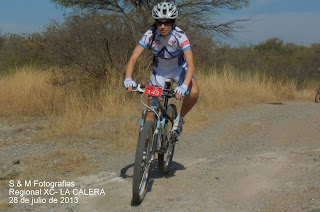 Ciclismo, Cross Country en La Calera