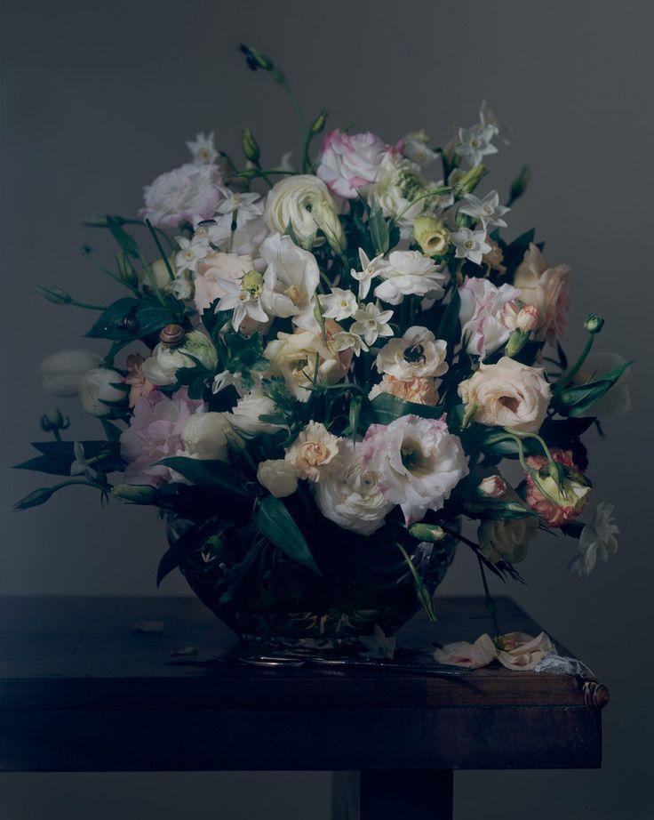 blomster til væggen