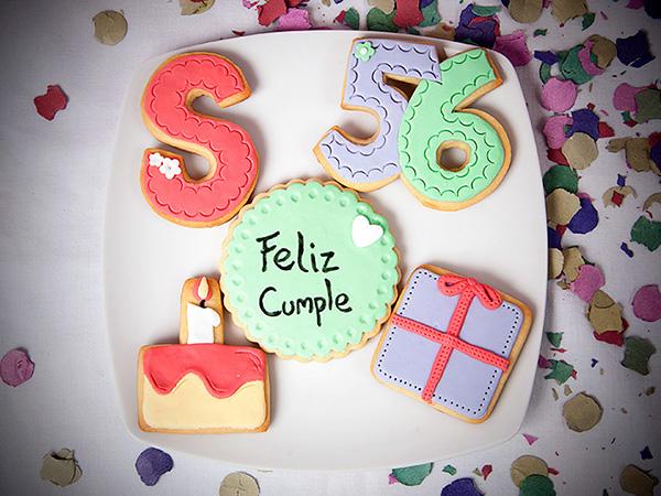 galletas decoradas para cumpleaños