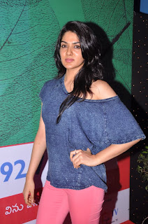 Actress Sakhi Chowdary Pictures in Tight Jeans at Green Ganesh 0003.jpg
