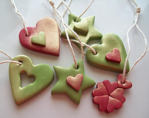Χριστουγεννιάτικες κατασκευές Polymer-clay-ornaments-06