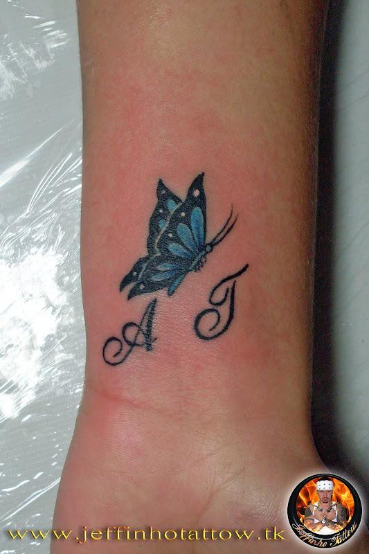 Tatuagens de Borboletas 4 title=