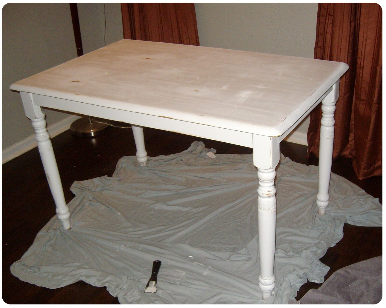 Dining table painted dining tables distressed - Painted dining tables distressed ...