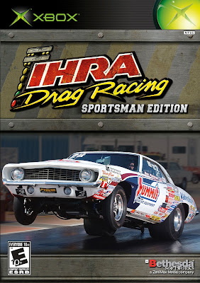 IHRA Drag Racing Sportsman Edition Xbox Cover Art