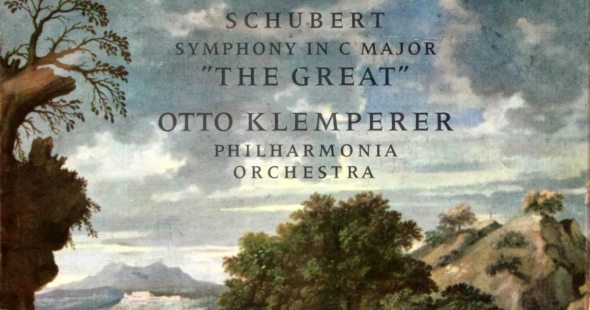 Schubert Klemperer Philharmonia Orchestra Unfinished Symphony Symphony No 5 In B Flat Major