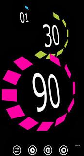 aplicaciones lumia clock