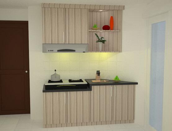 desain dapur minimalis untuk rumah mungil gambar rumah