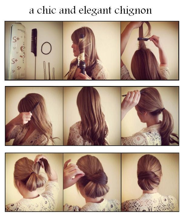 Видео прически на средние волосы своими руками