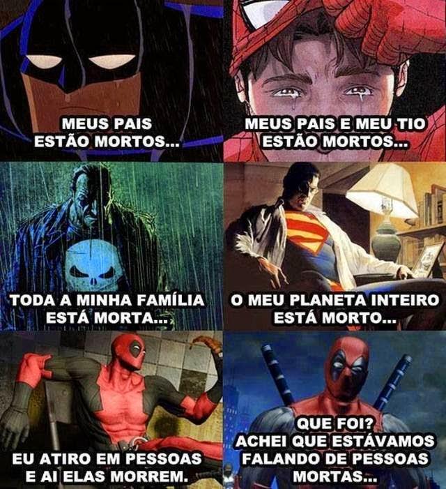 Deadpool engraçado