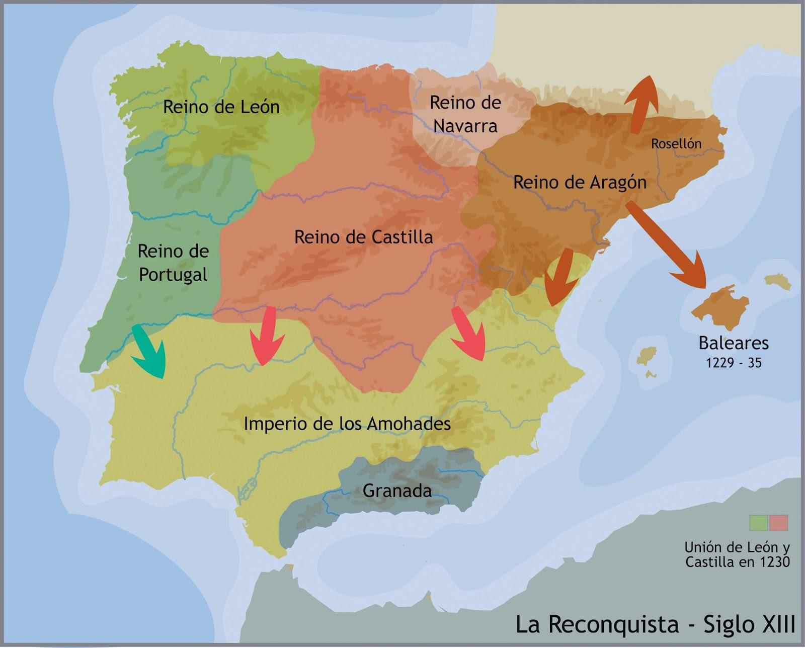 Los Reinos Cristianos Pau de Los Reinos Cristianos