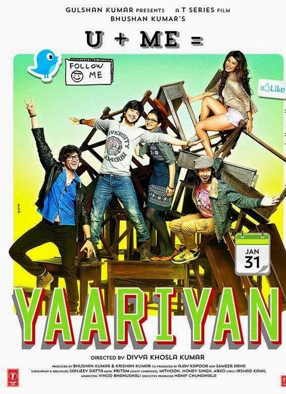 Yaariyan Hindi Movie Poster Yaariyan (2014): Movie...