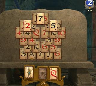 Pyramid solitaire saga, Lvl 34, rnd 2,