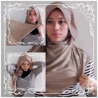 Creation hijab urban chic hanya 3 menit