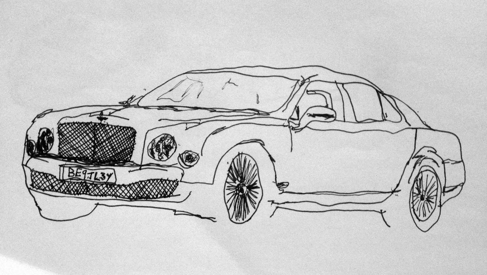 Flying Lightbulb: Drawings of My Top 6 Favourite Vehicles