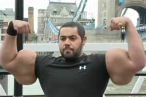Biggest biceps pictures | Top jobs in the Middle East